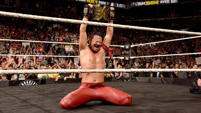 Resultado de imagen para Nakamura nxt champion