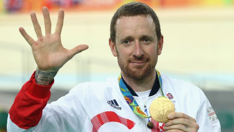 Sir Bradley Wiggins has turned his attention to rowing since retiring from cycling