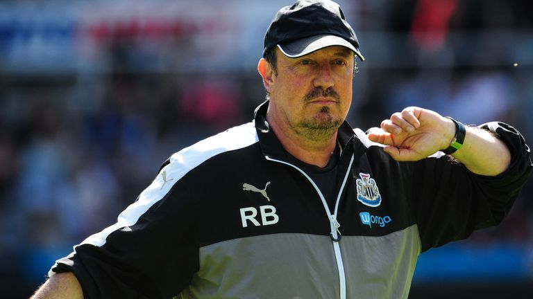 Benitez had previously enjoyed lower-tier success in Spanish football, leading Exrtremadura and Tenerife to promotion