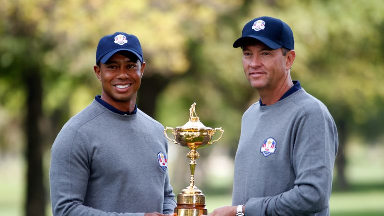 Tiger Woods will be one of Davis Love's assistant captains at Hazeltine