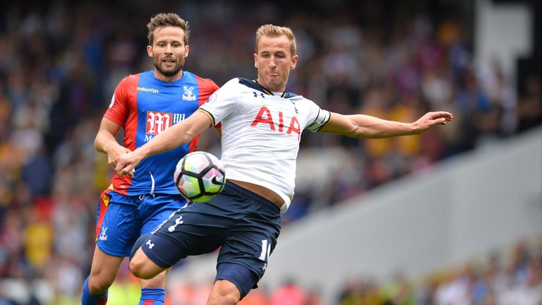 Kane went six games before scoring in 2015-16 but ended as the Premier League's leading scorer