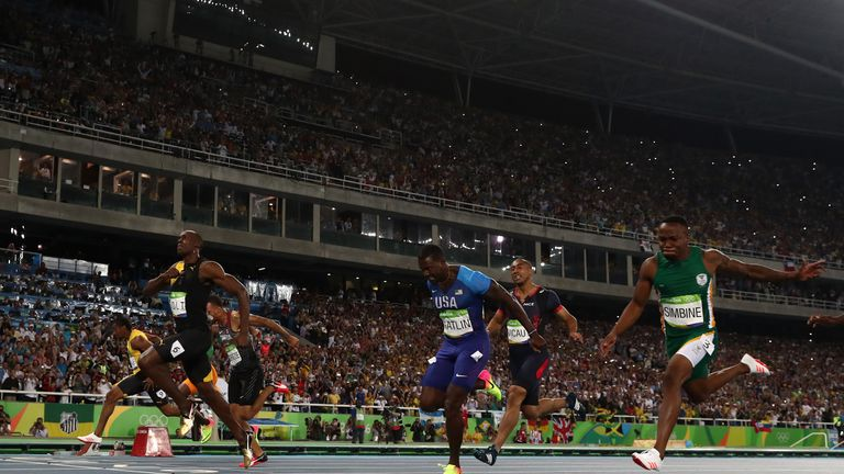 Bolt Once Again Proved Too Good For His Old Adversary Justin Gatlin Centre
