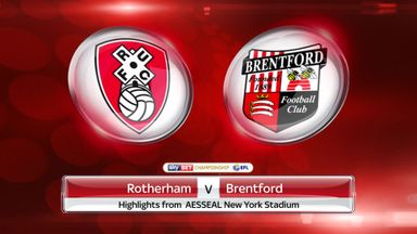 Rotherham 1-0 Brentford