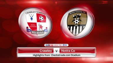 Crawley 1-3 Notts County