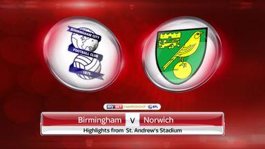 Birmingham 3-0 Norwich