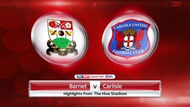 Barnet 0-1 Carlisle