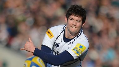 Cillian Willis in action for Sale Sharks