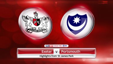 Exeter 0-1 Portsmouth