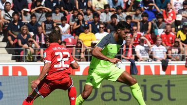 Liverpool's Emre Can in action against Mainz
