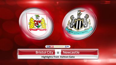 Bristol City 0-1 Newcastle