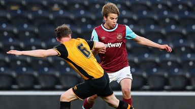 Martin Samuelsen in action for West Ham in last season