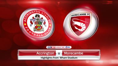 Accrington 2-3 Morecambe