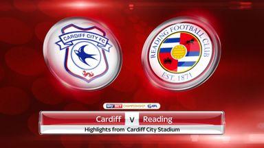 Cardiff 0-1 Reading