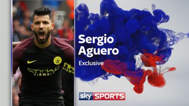 Sergio Aguero tells Geoff Shreeves that Pep Guardiola is bringing a change to his play