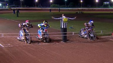Rohan Tungate claimed decisive heat win for Swindon Robins against Poole Pirates