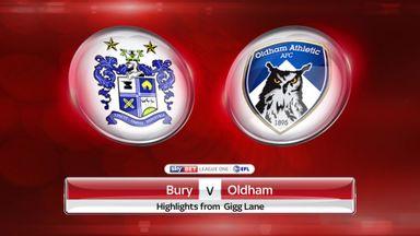 Bury 0-1 Oldham