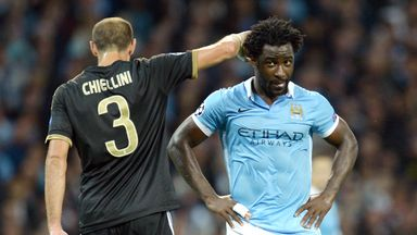 Wilfried Bony has been offloaded by Manchester City this season