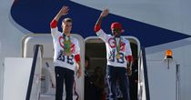 Heroic Team GB welcomed home