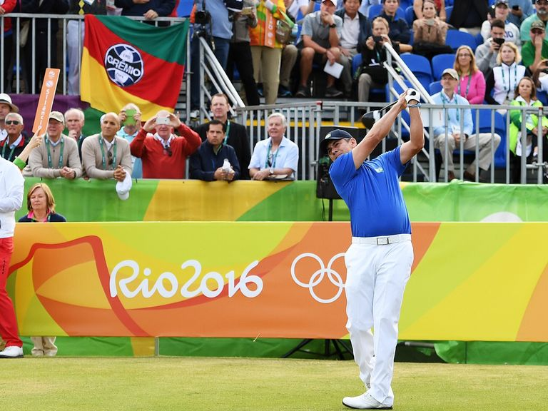 After 36 holes, Marcus Fraser leads Olympic tournament by one shot