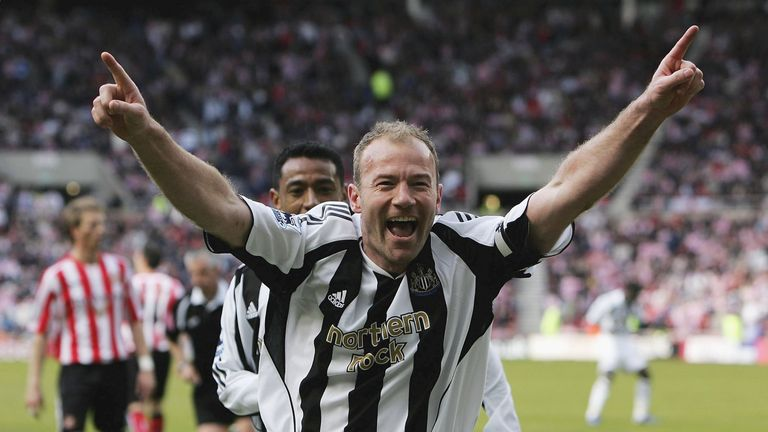 Alan Shearer enjoyed 10 years at Newcastle