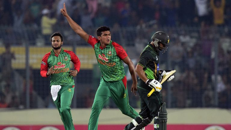 Taskin has been named in the Bangladesh squad for ODIs against Afghanistan