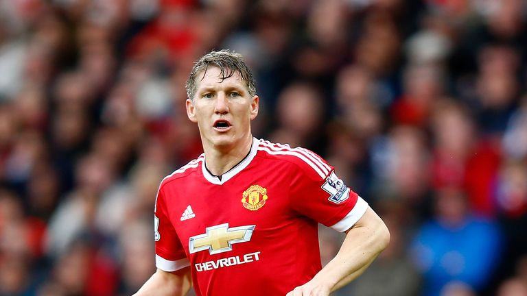 Bastian Schweinsteiger has not featured for Manchester United this season