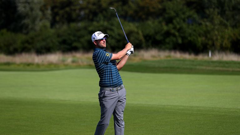 Bernd Wiesberger had taken a one-shot lead in to the weekend