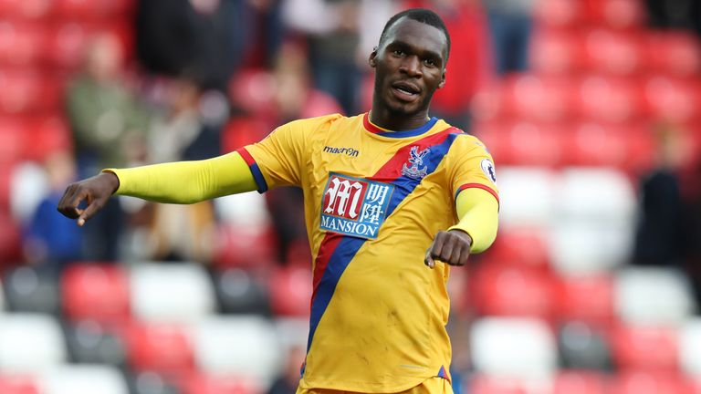 Benteke has scored eight times for Palace since his summer move from Liverpool