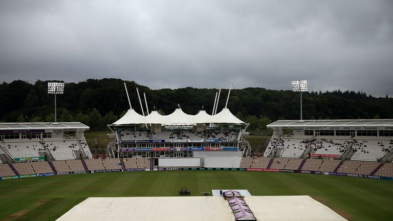 Hampshire play their cricket at the Ageas Bowl