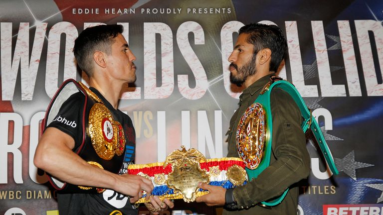 Linares will face WBA champion Anthony Crolla this Saturday night on Sky Sports
