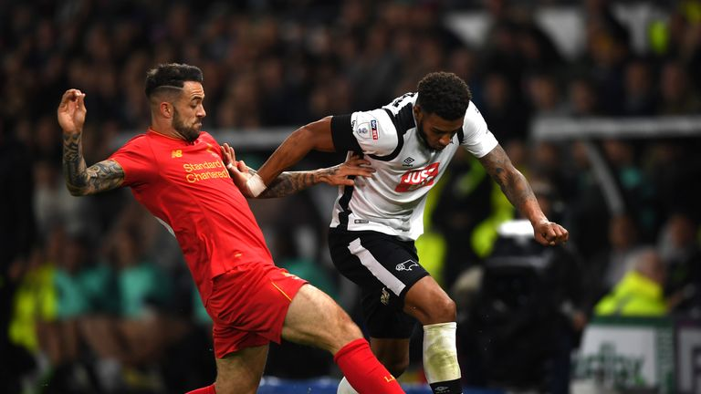 Liverpool advanced the to the fourth round of the EFL Cup with a 3-0 win over Derby County