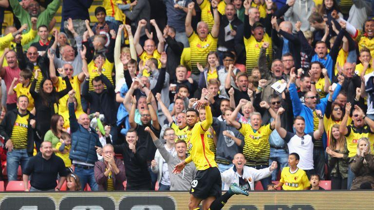 Burnley vs Watford in the Premier League