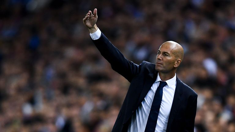 Zinedine Zidane has said changes could be on the cards for Real Madrid this weekend