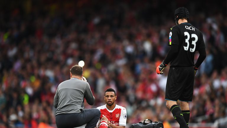 Image result for Arsenal's Coquelin to miss three weeks