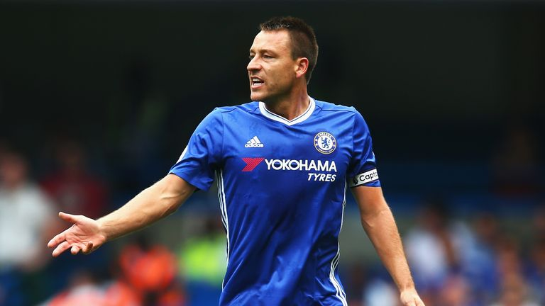 John Terry's Chelsea future will be decided at the end of the season, says Antonio Conte