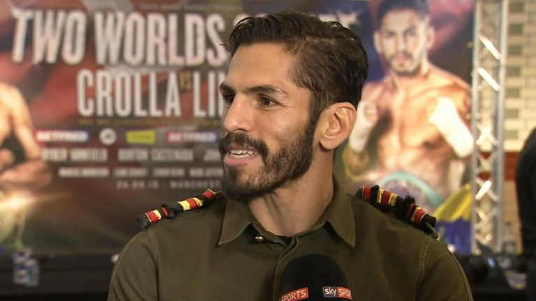 Jorge Linares is a three-weight world champion fighting for The  Ring belt