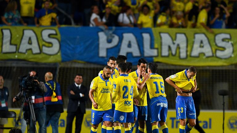 Las Palmas have been La Liga's surprise package so far