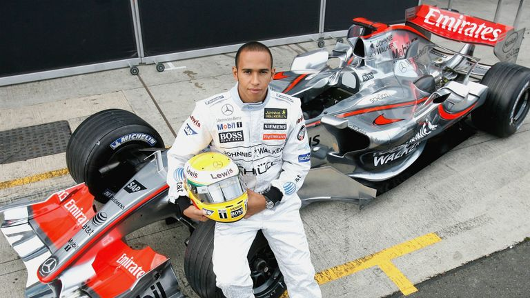 Lewis Hamilton's first full F1 test: 10 years on from his big ...