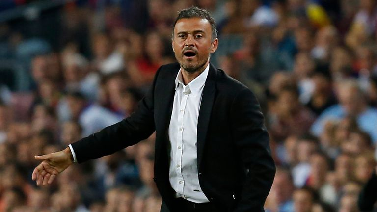 Luis Enrique says the 5-0 scoreline against Sporting Gijon flattered his side