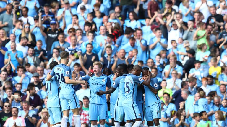 Manchester City have made a strong start to the campaign under Pep Guardiola