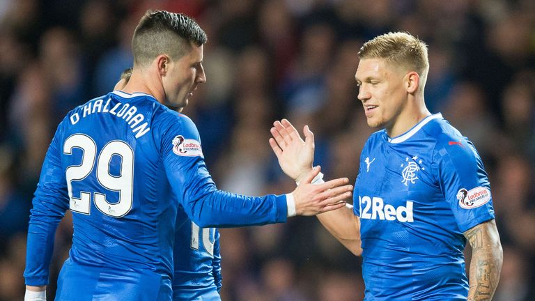Rangers will be live on Sky three times in November and December