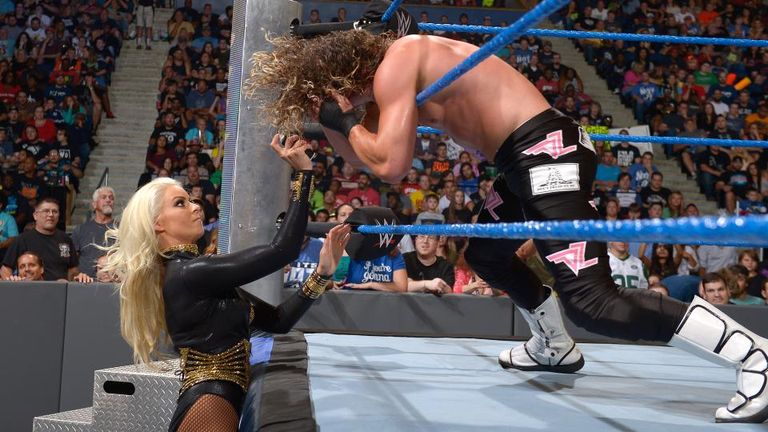 Ziggler was scuppered by an interfering Maryse