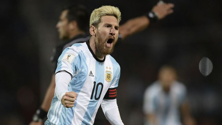 Messi reversed his decision to retire from international football this summer