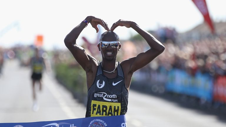 Sir Mo Farah is relieved he can return to the USA