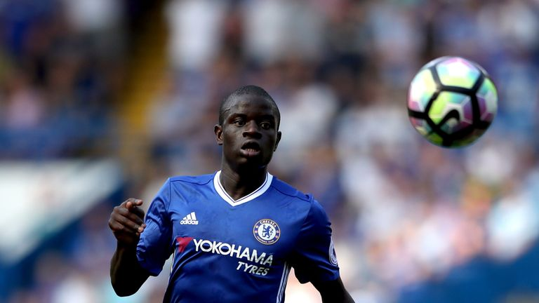 N'Golo Kante moved from Leicester to Chelsea in the summer