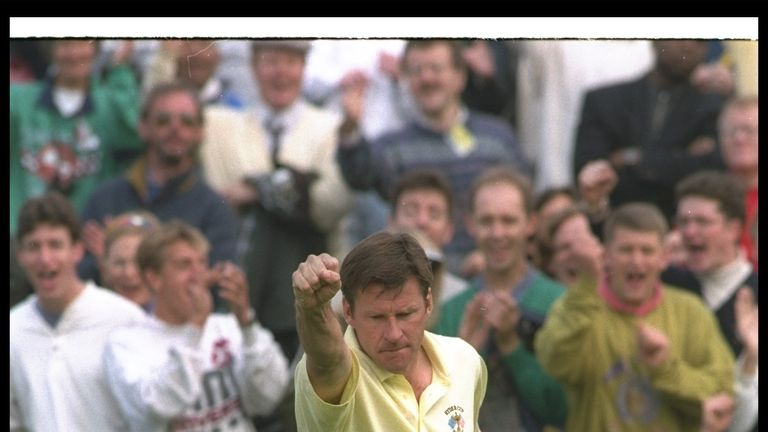 Nick Faldo holds records for most appearances and most points won