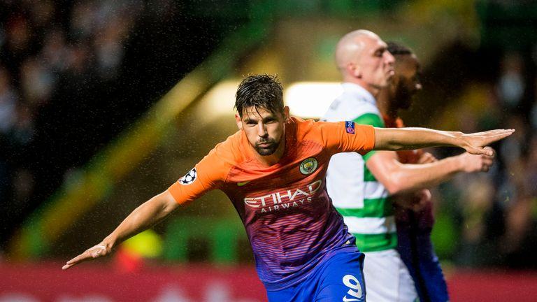 Nolito has left Manchester City for Sevilla