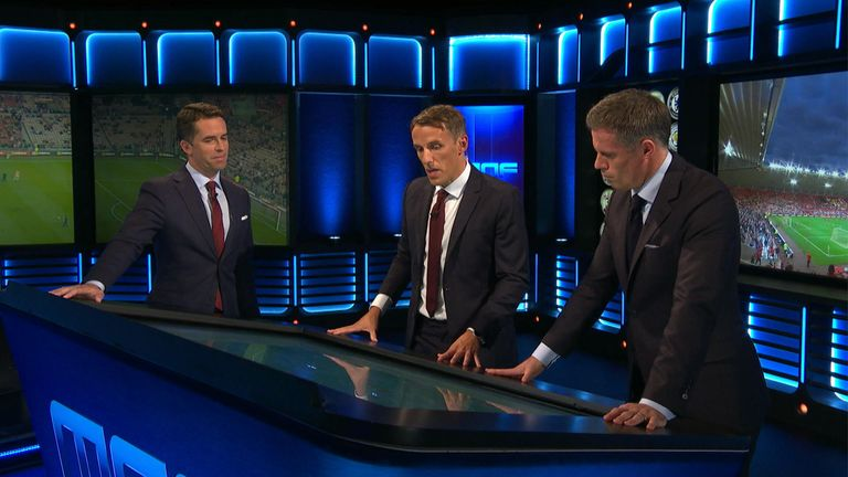 Phil Neville is a regular guest on Sky Sports