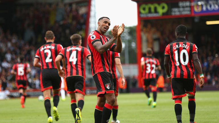 Bournemouth will look for a second consecutive home win in the Premier League against Everton after beating West Brom
