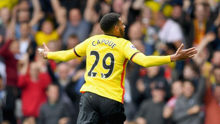 Etienne Capoue has four Premier League goals for Watford
